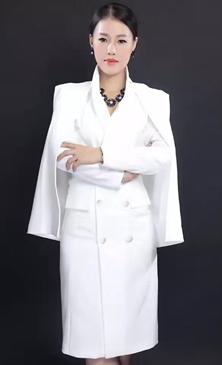 梵希纹绣学院校长陈诗蓉